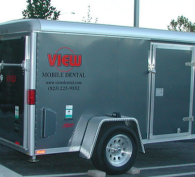 View mobile dental transportation clinic